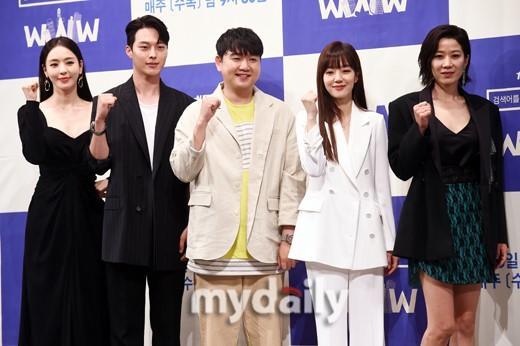 「MD PHOTO」 林秀晶李多喜等出席tvN新劇《請輸入檢索詞WWW》發布會 | 尋夢戲劇