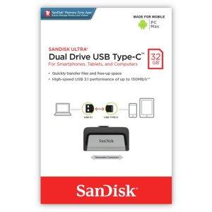 SanDisk Ultra Dual Drive USB Type-C -32GB