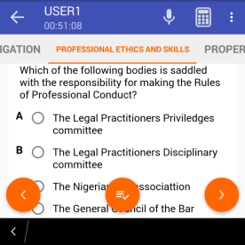 SAMPLE ETHICS QUESTION