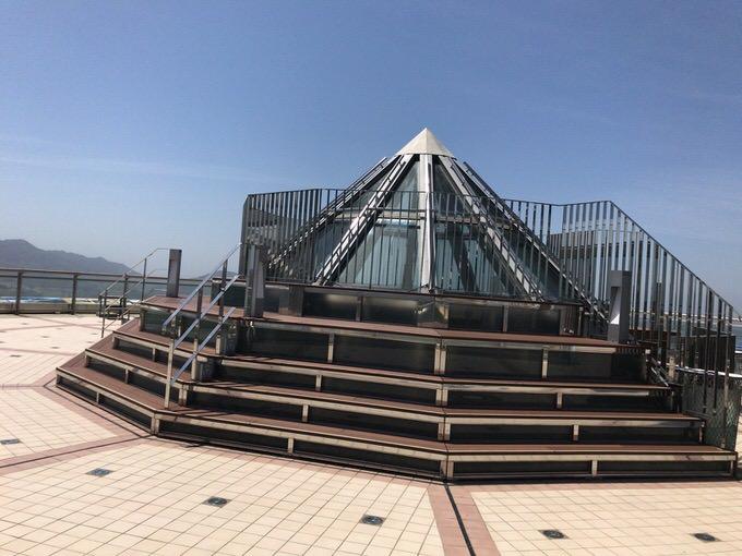 稲佐山展望台 ベンチ