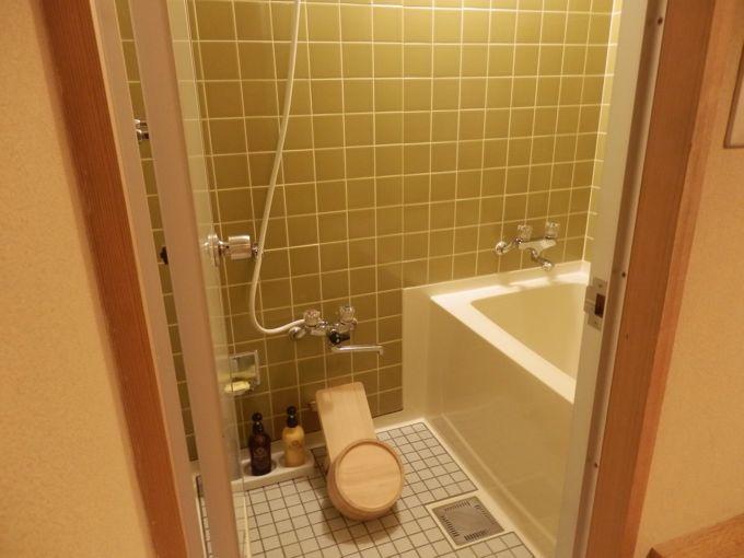 岩惣 客室 バスルーム