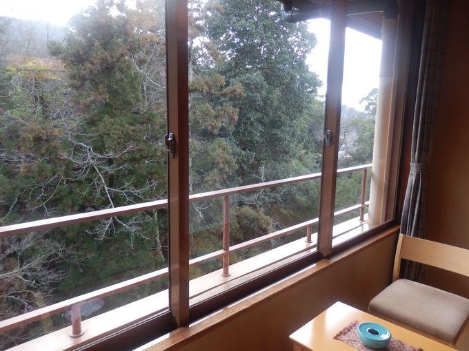 岩惣 広縁からの風景