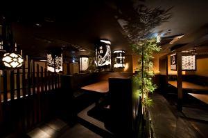 仙台 国分町 米沢牛焼肉「仔虎」 外装、内装ビジュアル