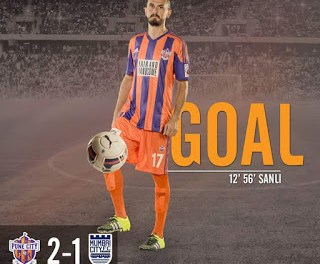 'Helder Postiga, Tuncay Sanli', The foreign players of ISL season 2