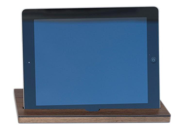e.Stand Kitchen Walnus für iPad Air und Pro klein