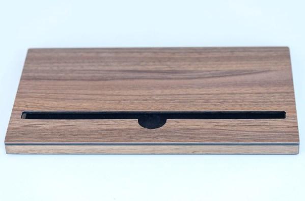 e.Stand kitchen Walnuss für iPad Air und Pro klein