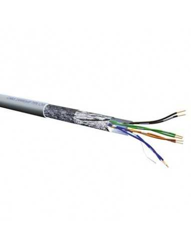 CABLE RJ45 100 M. CAT. 5E FTP flexible AWG24 10.20.0704