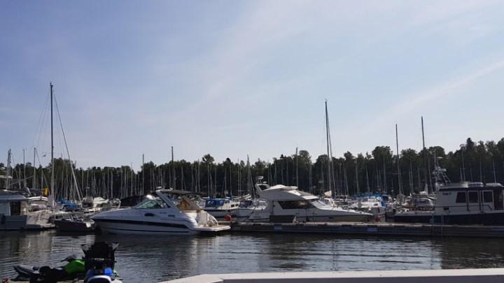 Uusi kantapaikka Sarvaston venesatamassa