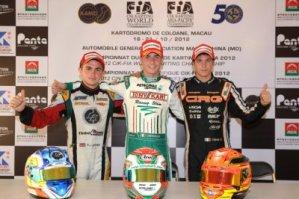 Tom Joyner, Flavio Camponeschi, and Felice Tiene