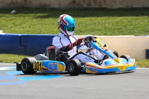Roger Ralston Jr. showed speed at the Rotax Max Challenge United States Grand Nationals and followed that up with a podium result in Leopard Pro at the USPKS finale  (Photo: Ken Johnson - Studio52.us)