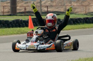Parker Chase claims a ticket to the Rotax Micro & Mini Invitational through the Texas Pro Kart Challenge  (Photo: Colby Novak - High Velocity Productions)