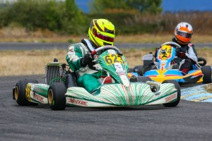 With two more victories on the season, Dayna Ward locked up the Masters Max title (Photo: Sean Buur / Can-Am Karting Challenge)