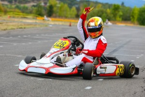 Jake Craig secured his Rotax Grand Finals ticket with two stellar victories in Rotax Senior to close out the championship (Photo: Sean Buur / Can-Am Karting Challenge)