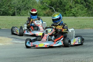 It was a Parolin 1-2 with point leader Chuck Gafrarar locking in the title with a victory (Photo: DavidLeePhoto.com)