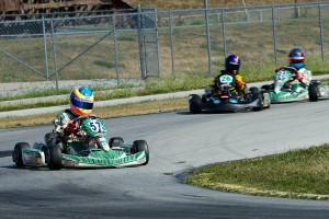 Michael d'Orlando swept the action Sunday in TaG Cadet (Photo: Rob Chinn)