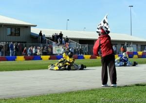 Braden Eves powered his way to the Yamaha Junior victory (Photo: DavidLeePhoto.com)
