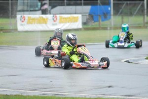 Round eight saw Jacob Mitchell leave with his third consecutive South Island title.  (Fast Company/Ian Edwards)