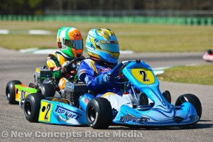 Scoring multiple victories this season, Holden will be a threat in the junior ranks in 2014. (New Concepts Race Media)