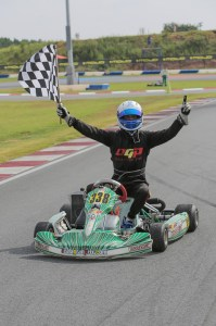 Oliver Askew won the US Rotax Grand Nationals and Pan-Am feature, two of many for Tony Kart on the year (Photo: Ken Johnson - Studio52.us)