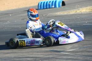 Phillip Arscott drove to two runner-up finishes in Senior Max (Photo: SeanBuur.com)