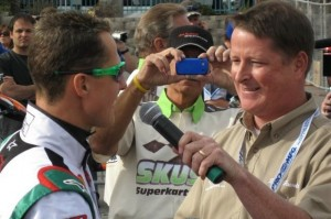From making calls to magazine subscribers to interviewing Michael Schumacher at the SKUSA SuperNationals - it's been an adventure, for certain