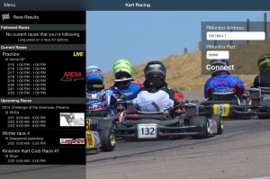 Race Monitor-iPad