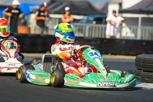 It was a dominating day for Christian Brooks in Junior Max, scoring the top position every session (Photo: SeanBuur.com)