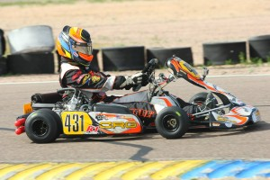 Sabré Cook enters the Rotax Challenge of the Americas finale second in the DD2 championship (Photo: SeanBuur.com)