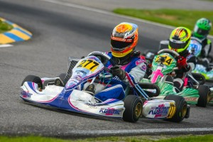 Austin Versteeg began the new season with a sweep in the competitive Junior Max division (Photo: SeanBuur.com)
