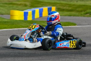After a technical DQ Saturday, Jacob Blue Hudson stormed back Sunday to claim his first Mini Max series victory (Photo: SeanBuur.com)