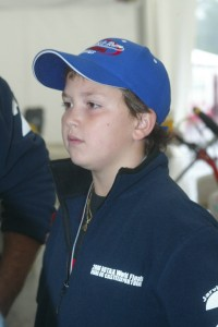 Neri at the 2006 Rotax Grand Finals following his US Rotax Grand Nationals Mini Max title (Photo: EKN)