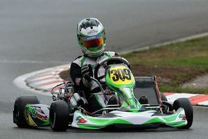Simone Brenna in action in his fast laps during qualifying in Wackersdorf (Photo: Cuna Photo)