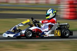 Lucas Legeret earned the pole in the Academy Trophy class (Photo: Cuna Photo)