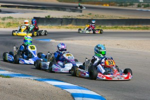 After Jak Crawford (#52) had two heat wins taken away in tech, Diego LaRoque (#56) becomes the new Micro Max leader (Photo: Ken Johnson - Studio52.us)