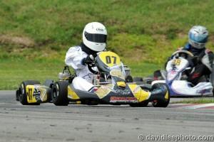 Francois Brun-WIbaux drove to his first USPKS victory in Parilla Challenge (Photo: DavidLeePhoto.com)