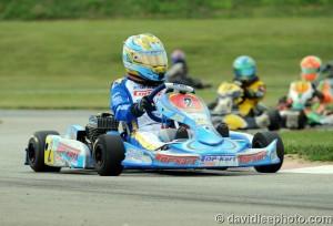 Defending class champion Zach Holden got back to his winning ways in Yamaha Junior (Photo: DavidLeePhoto.com)