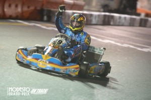 2010 Pro Tour TaG Master champion Ethan Wilson triumph Saturday night (Photo: On Track Promotions - otp.ca)