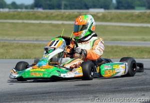 Two wins on the weekend for Brandon Lemke (Photo: DavidLeePhoto.com)