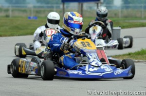 Laurentiu Mardan won his third feature in Parilla Challenge (Photo: DavidLeePhoto.com)