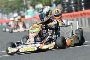Five-time world karting champion Davide Fore will compete in KZ2 and S1 under the CRG-USA tent (Photo: On Track Promotions - otp.ca)