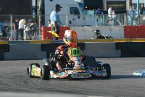 Jimmy McNeil survived the final heat to land a spot at the front of the grid in S4 (Photo: On Track Promotions - otp.ca)