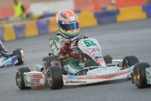 Michael d'Orlando will lead the field to the green flag on SuperSunday (Photo: On Track Promotions - otp.ca)