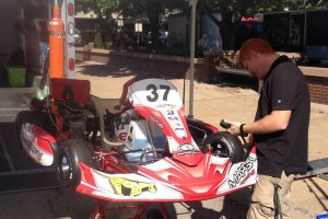 Dingess was able to prepare the Margay chassis to exactly the needs for Howden throughout the two days