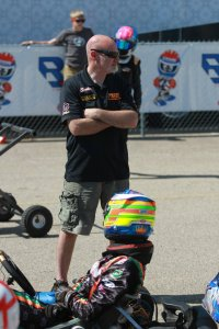 Father's Day weekend at the track for Scott and Kyle Kalish (Photo: EKN)