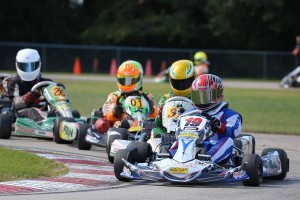 Josh Fierke returned to the front of the Yamaha Senior field, winning his first Final since the 2014 opening weekend (Photo: Kathy Churchill - Route66kartracing.com)