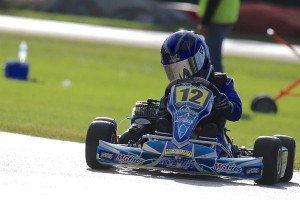 Keegan Bosch became a first time winner in the Yamaha Rookie division (Photo: Kathy Churchill - Route66kartracing.com)