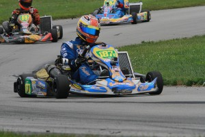 Bermuda driver Brandon Frank is among the most experienced in the S2 field (Photo: EKN)