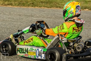 Alex Bertagnoli is the top driver in the Pro IAME Junior division (Photo: Focal Perspective Media)