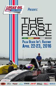 Lucas Oil School of Racing-First Race