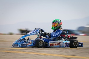 Oliver Calvo became the third different winner in the X30 Junior division (Photo: DromoPhotos.com)